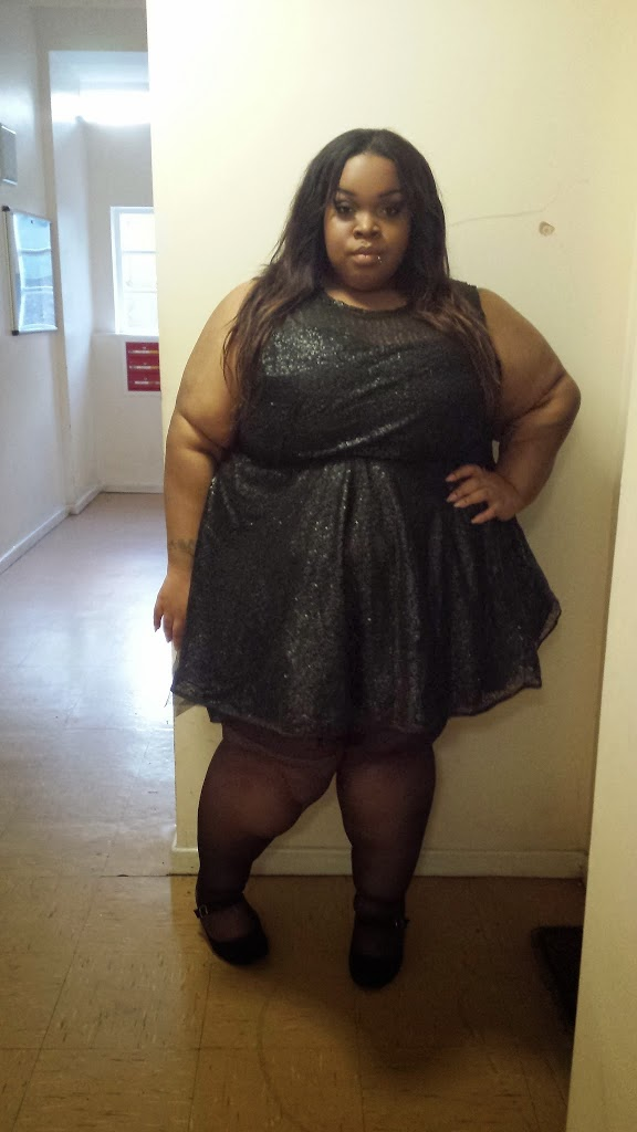 lingerie Bbw black girl